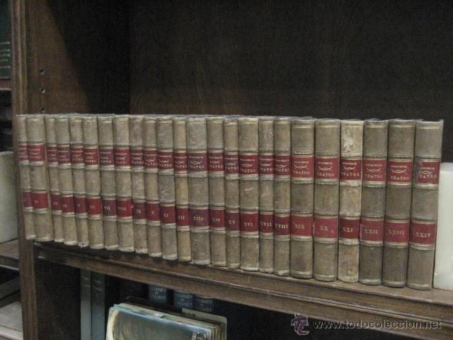 24 TOMOS EN PIEL TEATRO DE JACINTO BENAVENTE, SUCESORES DE HERNANDO , FORTANET IMPRENTA, 1905 -1918 (Libros Antiguos, Raros y Curiosos - Enciclopedias)