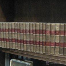 Enciclopedias antiguas: 24 TOMOS EN PIEL TEATRO DE JACINTO BENAVENTE, SUCESORES DE HERNANDO , FORTANET IMPRENTA, 1905 -1918. Lote 46921789