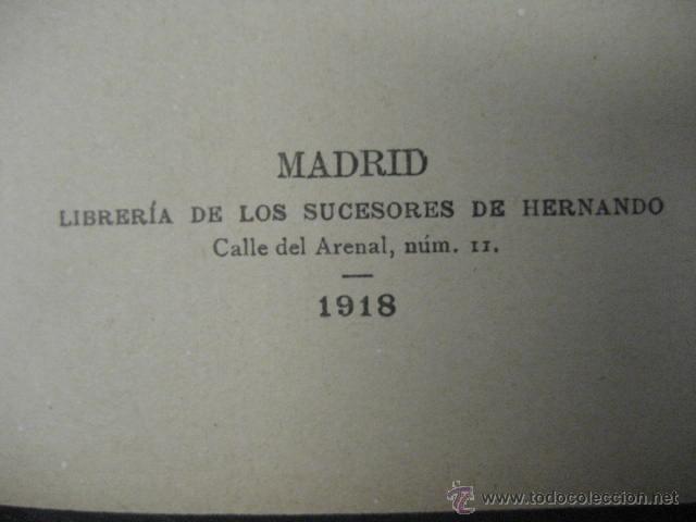 Enciclopedias antiguas: 24 tomos en piel teatro de jacinto Benavente, Sucesores de Hernando , Fortanet imprenta, 1905 -1918 - Foto 17 - 46921789