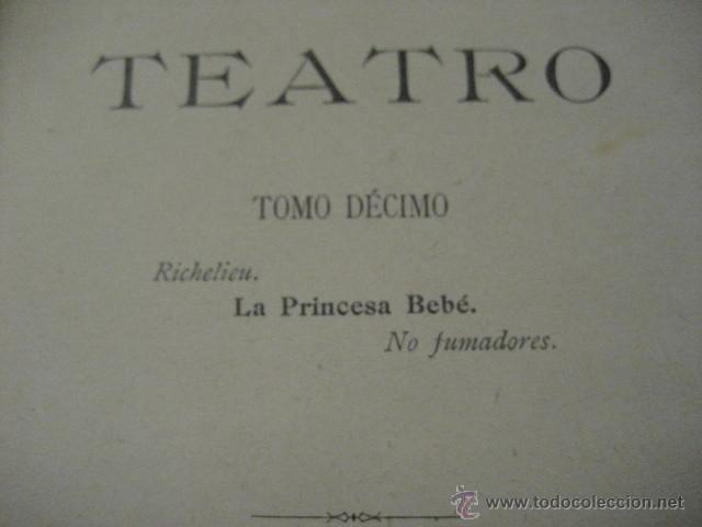Enciclopedias antiguas: 24 tomos en piel teatro de jacinto Benavente, Sucesores de Hernando , Fortanet imprenta, 1905 -1918 - Foto 22 - 46921789