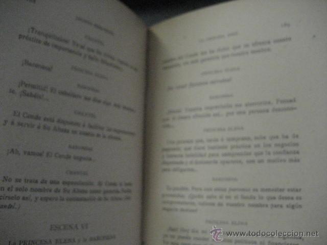 Enciclopedias antiguas: 24 tomos en piel teatro de jacinto Benavente, Sucesores de Hernando , Fortanet imprenta, 1905 -1918 - Foto 23 - 46921789