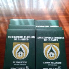 Enciclopedias antiguas: LOTE DE SEIS ENCICLOPEDIAS FAMILIAR DE LA SALUD, EDICIONES DANAE.. Lote 48817860
