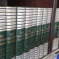 Enciclopedias antiguas: GRAN ENCICLOPEDIA DEL MUNDO - DURVAN 20 TOMOS + APÉNDICES. Lote 50006195