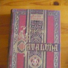 Enciclopedias antiguas: HISTORIA DE CATALUÑA- VICTOR BALAGUER. Lote 50553376
