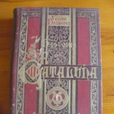 Enciclopedias antiguas: HISTORIA DE CATALUÑA- VICTOR BALAGUER. Lote 50553432