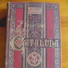 Enciclopedias antiguas: HISTORIA DE CATALUÑA- VICTOR BALAGUER. Lote 50554674