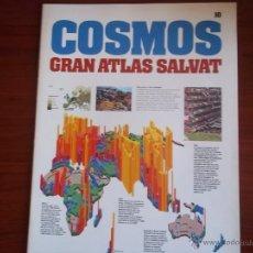 Enciclopedias antiguas: GRAN ATLAS SALVAT COSMOS - FASCICULOS DEL Nº 1 AL 10. Lote 50982331