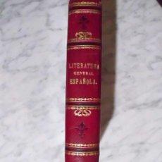 Enciclopedias antiguas: OCASIÓN - LITERATURA GENERAL ESPAÑOLA - TOMO 2 - FRANCISCO SÁNCHEZ DE CASTRO - 1890. Lote 51107773