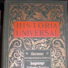 Enciclopedias antiguas: ANTIGUA HISTORIA UNIVERSAL,10 TOMOS,1908. Lote 51212143