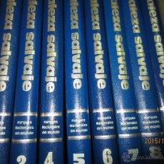 Enciclopedias antiguas: ENCICLOPEDIA PARQUES NACIONALES 10 VOLUMENES. Lote 51779995