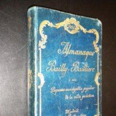 Enciclopedias antiguas: ALMANAQUE BAILLY BAILLIERE / 1904. Lote 51961243