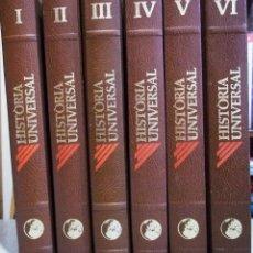 Enciclopedias antiguas: HISTORIA UNIVERSAL - EDICIONA NAUTA . 6 TOMOS COMPLETA - EN CATALAN PERFECTA. Lote 53125661