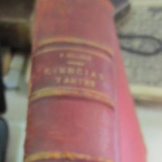 Enciclopedias antiguas: ENCICLOPEDIA POPULAR DE CIENCIAS Y ARTES TEXTO TOMO 4 FEDERICO GILMAN AÑO 1885 SIGLO XIX. Lote 53513708