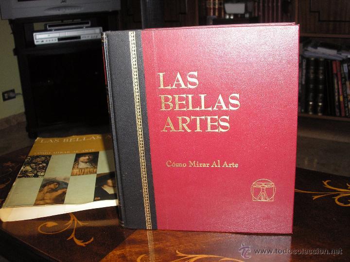 Enciclopedias antiguas: LAS BELLAS ARTES - ENCICLOPEDIA ILUSTRADA DE PINTURA, DIBUJO Y ESCULTURA - 10 TOMOS - Foto 4 - 54060790