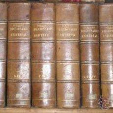 Enciclopedias antiguas: NICOLÁS Mª SERRANO: DICCIONARIO UNIVERSAL DE LA LENGUA CASTELLANA CIENCIAS Y ARTES. LÁMINAS GRABADAS. Lote 54765561