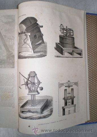 Enciclopedias antiguas: NICOLÁS Mª SERRANO: DICCIONARIO UNIVERSAL DE LA LENGUA CASTELLANA CIENCIAS Y ARTES. LÁMINAS GRABADAS - Foto 2 - 54765561