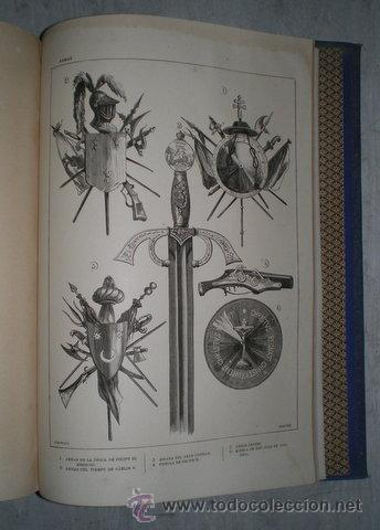 Enciclopedias antiguas: NICOLÁS Mª SERRANO: DICCIONARIO UNIVERSAL DE LA LENGUA CASTELLANA CIENCIAS Y ARTES. LÁMINAS GRABADAS - Foto 4 - 54765561