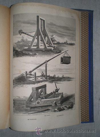 Enciclopedias antiguas: NICOLÁS Mª SERRANO: DICCIONARIO UNIVERSAL DE LA LENGUA CASTELLANA CIENCIAS Y ARTES. LÁMINAS GRABADAS - Foto 5 - 54765561