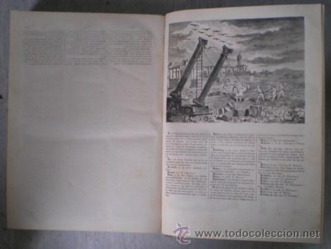 Enciclopedias antiguas: NICOLÁS Mª SERRANO: DICCIONARIO UNIVERSAL DE LA LENGUA CASTELLANA CIENCIAS Y ARTES. LÁMINAS GRABADAS - Foto 11 - 54765561