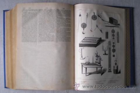 Enciclopedias antiguas: NICOLÁS Mª SERRANO: DICCIONARIO UNIVERSAL DE LA LENGUA CASTELLANA CIENCIAS Y ARTES. LÁMINAS GRABADAS - Foto 12 - 54765561