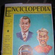 Enciclopedias antiguas: LOTE DEL 12 AL 208 FALTAN DEL 53 AL 67 INCLUIDOS ENCICLOPEDIA ESTUDIANTIL EN PERFECTO ESTADO. Lote 54952222