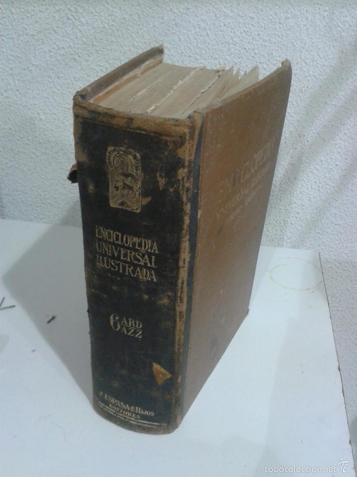 ENCICLOPEDIA UNIVERSAL ILUSTRADA EUROPEO AMERICANA. TOMO 6 (Libros Antiguos, Raros y Curiosos - Enciclopedias)