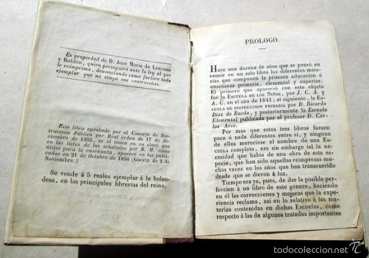 Enciclopedias antiguas: ARTE..- J.Mª LEZCANO - VALLADOLID - 1855 - Foto 4 - 57570612