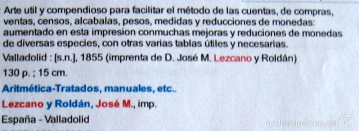 Enciclopedias antiguas: ARTE..- J.Mª LEZCANO - VALLADOLID - 1855 - Foto 5 - 57570612