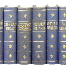 Enciclopedias antiguas: 7680 - EDITORIAL RAMÓN SOPENA. BIBLIOTECA HISPANIA. 8 EJEM.(VER DESCRIP). VV. AA. 1935-36.. Lote 57589605