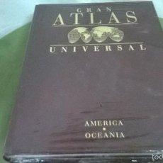 Enciclopedias antiguas: ENCICLOPEDIA GRAN ATLAS UNIVERSAL. Lote 57834731