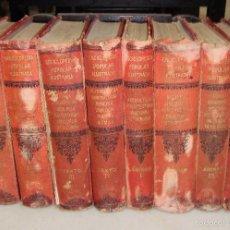 Enciclopedias antiguas: ENCICLOPEDIA POPULAR ILUSTRADA DE CIENCIAS Y ARTES. FEDERICO GILLMAN. 1882. 8 VOLUMENES. COMPLETA.. Lote 59160760