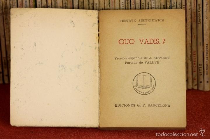 Enciclopedias antiguas: LP-285 - ENCICLOPEDIA PULGA. 112 TOMOS. (VER DESCRIPCIÓN). VV. AA. EDICIONES G. P. S/F. - Foto 5 - 59498975