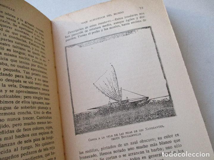 Enciclopedias antiguas: L. A. DE BOUGAINVILLE, VIAJE ALREDEDOR DEL MUNDO, 2 TOMOS.- ESPASA-CALPE- MADRID, 1936- - Foto 4 - 62459212