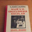 Enciclopedias antiguas: NUEVA ENCICLOPEDIA ESCOLAR. Lote 67161638