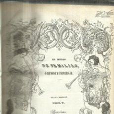 Enciclopedias antiguas: EL MUSEO DE LAS FAMILIAS. TOMO V. J. OLIVERES. BARCELONA. 1848. Lote 67372289