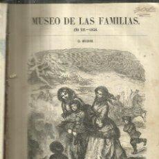 Enciclopedias antiguas: MUSEO DE LAS FAMILIAS. AÑO DECIMO SESTO. ESTABLECIMIENTO MELLADO. MADRID. 1858. Lote 67372857
