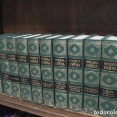 Enciclopedias antiguas: HISTORIA DE ESPAÑA CLUB INTERNACIONAL DEL LIBRO 10 TOMOS COMPLETA. Lote 68150901