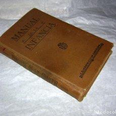 Enciclopedias antiguas: MANUAL DE LA INFANCIA, POR UN PADRE DE LA COMPAÑÍA DE JESÚS. 8ª ED. 1924. Lote 70220813