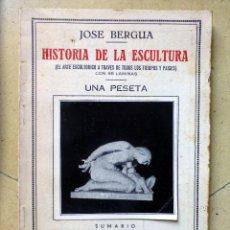 Enciclopedias antiguas: PEQUEÑA ENCICLOPEDIA PRACTICA Nº 72 HISTORIA DE LA ESCULTURA JOSE BERGUA. Lote 70533437