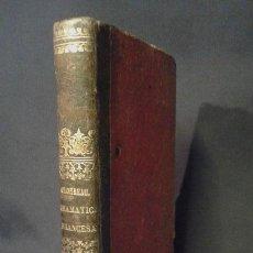 Enciclopedias antiguas: GRAMÁTICA FRANCESA. CHANTREAU. BERGNES DE LAS CASAS. BARCELONA. OLIVARES. 1860.. Lote 70972261