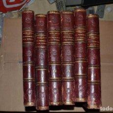 Enciclopedias antiguas: ENCICLOPEDIA EL HOMBRE Y LA TIERRA PRIMERA EDICION 1909 ELISEO RECLUS. Lote 72820647