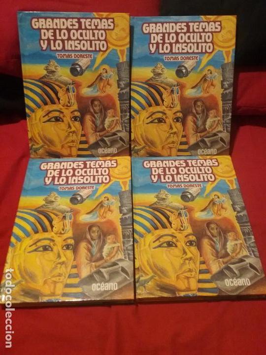ENCICLOPEDIA DE LO OCULTO Y LO INSOLITO (Libros Antiguos, Raros y Curiosos - Enciclopedias)