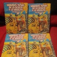 Enciclopedias antiguas: ENCICLOPEDIA DE LO OCULTO Y LO INSOLITO. Lote 73826359