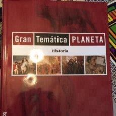 Enciclopedias antiguas: GRAN ENCICLOPEDIA TEMATICA PLANETA. Lote 75423443