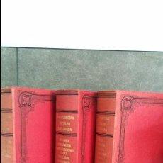 Enciclopedias antiguas: ENCICLOPEDIA POPULAR ILUSTRADA 3 TOMOS. FEDERICO GILLMAN. MADRID OBRAS Y COMPAÑIA 1881, 1883 Y 1884.. Lote 76950505