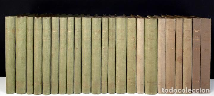 OBRES COMPLETES DE JOAN MARAGALL. 23 TOMOS(VER DESCRIPCIÓN). 1929/1936. (Libros Antiguos, Raros y Curiosos - Enciclopedias)