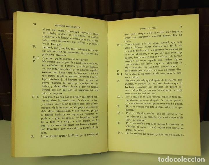 Enciclopedias antiguas: OBRAS COMPLETAS DE JAIME BALMES. 33 TOMOS(VER DESCRIPCIÓN). BIBLIOTECA BALMES.1925/1926. - Foto 4 - 78211569