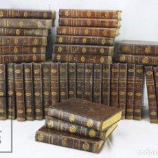 Enciclopedias antiguas: ANTIGUA ENCICLOPEDIA MODERNA. 33 TOMOS + 3 T. ATLAS. FRANCISCO P. MELLADO - BIBLIOTECA POPULAR, 1851. Lote 80081265