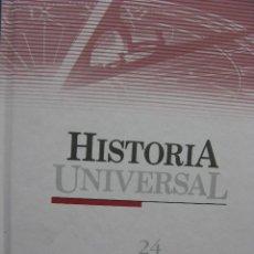 Enciclopedias antiguas: PPRLY - HISTORIA UNIVERSAL - 24 TOMOS - EDICIÓN 2004.. Lote 84755172