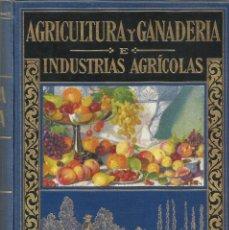 Enciclopedias antiguas: BIBLIOTECA HISPANIA. SEGUNDA EDICIÓN. EDITORIAL RAMÓN SOPENA. BARCELONA 1935.AGRICULTURA Y GANADERÍA. Lote 85465756